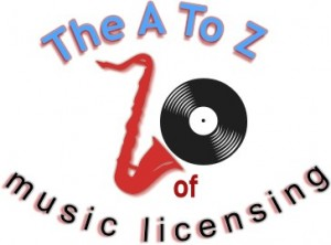 A to Z of music licencing