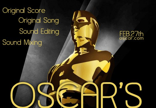 Music nominations for the Oscars